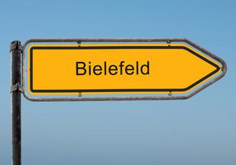 Strassenschild 35 - Bielefeld