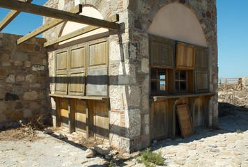 Kos Griechenland Dorf Ruine 4