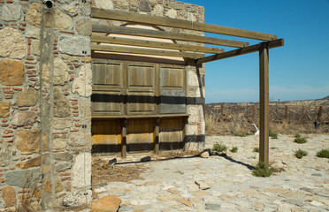 Kos Griechenland Dorf Ruine 5