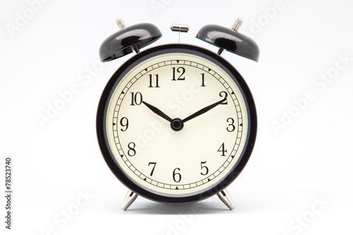 Leinwandbild Motiv reloj despertador de campana
