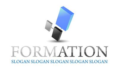 logo formation E