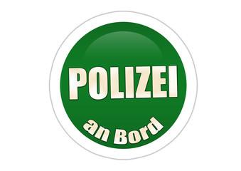 Polizei an Bord