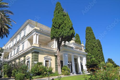 Achillion palace in Corfu, in Corfu - Greece - 78524178