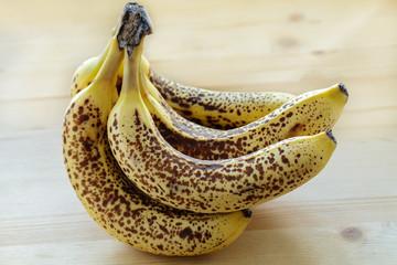 Überreife Bananen