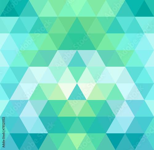 Tło trójkąt mozaikowy. Geometryczne tło