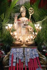 San Gennaro Statue, New Tork (USA)