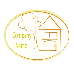 логотип жёлтый