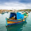 Bateau de pêche maltais, Malte - 78526311