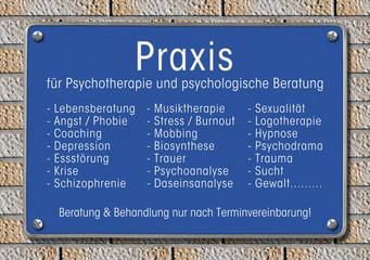 Praxis Schild Psychotherapie