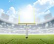 Football Stadium Day - 78527773