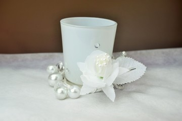 Decorative Candle Glass