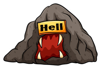 A bat in the hell idiom