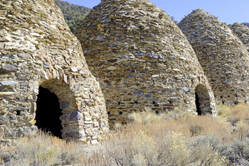 Charcoal kilns, Death Valley National Park, California
