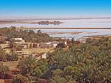 Egypte oasis de Siwa, le lac salé