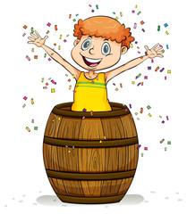 A barrel of fun idiom