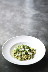 ricotta and herb pasta
