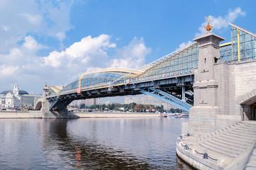 Bogdan Khmelnitsky bridge in Moscow