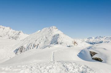 Bettmeralp, Dorf, Alpen, Bettmerhorn, Höhenweg, Wallis, Schweiz
