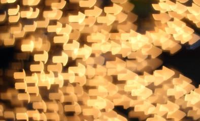 lights blurred bokeh background