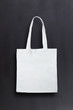 White bag against chalkboard background - 78534355