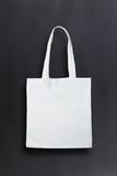 White bag against chalkboard background