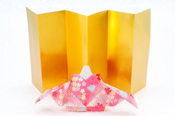 Origami Hina doll Japan