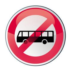 bus, transport en commun interdit