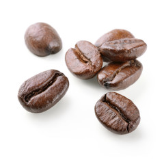 Seven coffee beans