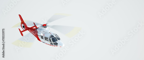 Rescue helicopter - 78535975