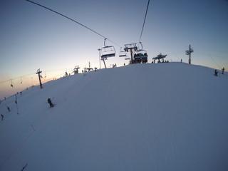 Снежный склон