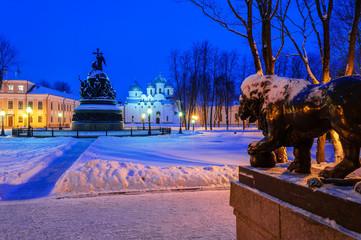 The architectural ensemble of the Novgorod Kremlin