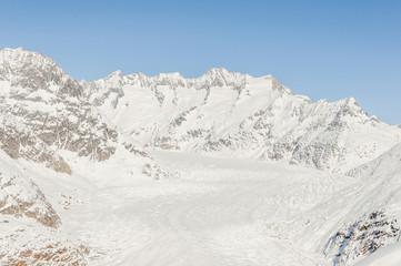 Riederalp, Bergdorf, Aletsch, Gletscher, Alpenpanorama, Schweiz