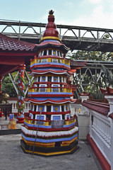 Indonesia: tempio buddista, buddha