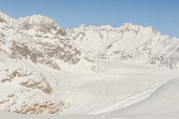 Bettmeralp, Dorf, Alpen, Wallis,  Aletsch, Winter, Schweiz
