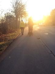 Spaziergang Pärchen