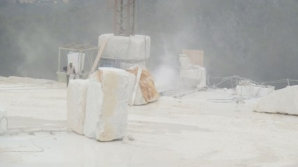 Marble in Carrara