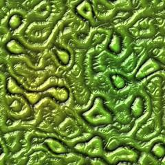 Green seamless alien skin texture