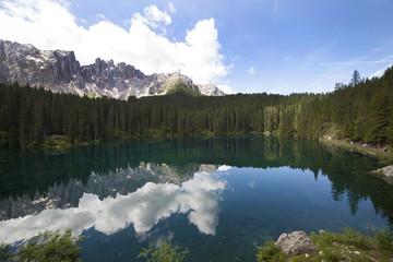 Trentino Alto Adige,lago di Carezza