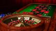 Casino Roulette Table - 78542736