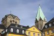 canvas print picture - Abteikirche St. Ludgerus in Essen-Werden, Deutschland