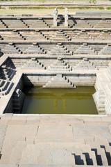 Water tank of Royal Enclosure temple at Hampi