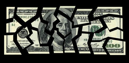business concepts. cut the money