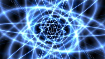 atom blue orbit 4k