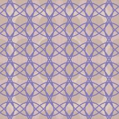 Elegant seamless pattern of interlacing curves