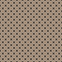 Abstract seamless cancellated pattern