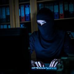 Hacker steals data