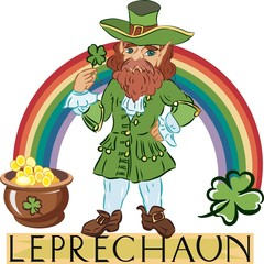 Leprechaun with title