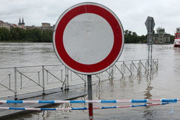 Floods in Prague, Czech Republic, June 2013