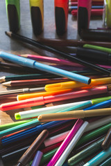 Multicolor markers for drawing