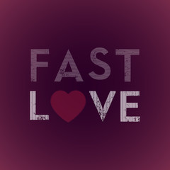 Fast love background